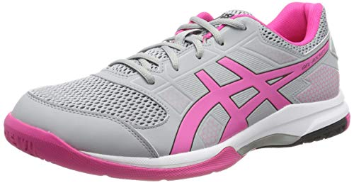 ASICS Damen Gel-Rocket 8 B756Y-020 Volleyballschuhe, Grau (Gray, 40 EU -