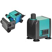 Newa Pompa immersione Micro-Jet MC 320 - Micro-pompa di riciclo dalle dimensioni ridotte, per acquario, tartarughiere, acquaterrario o presepe