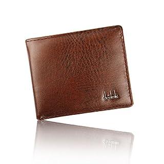 Amison gutaussehende Männer Geschäft künstlich Leder Brieftasche ID Kredit Kartenhalter Geldbeutel Taschen (braun)