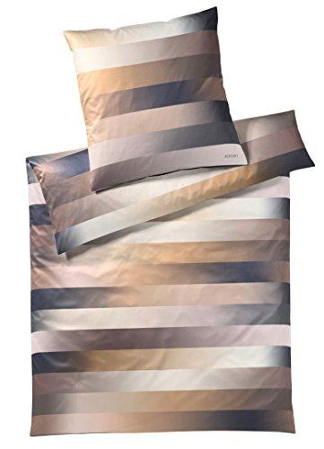 JOOP! Bettwäsche Kissenbezug Flow l Größe 40x80 l Farbe Gold l Reine Baumwolle