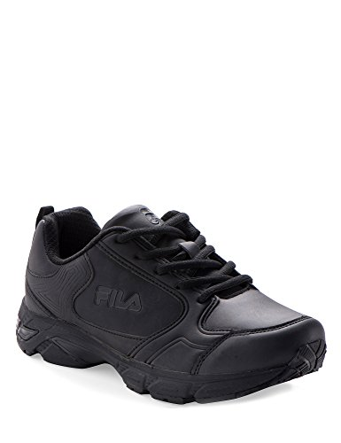 Fila Women's Memory Queen Leather Women's Footwear Black