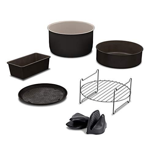 Ninja AOPPROKIT Pro Zubehör-Set für 6,5 qt. Foodi Multi-Kocher, grau/Edelstahl -