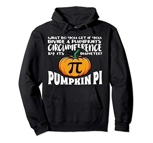 Mathe-Wortspiel-Kürbis-PU-lustiges Halloween-Kostüm Pullover Hoodie (Kürbis Kostüm Pi)