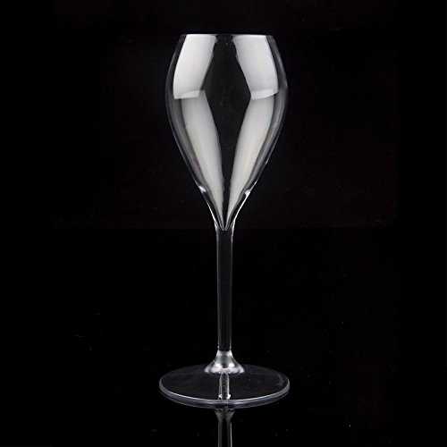 Flute da champagne DRINKSAFE Perlage, Plastica, Trasparente