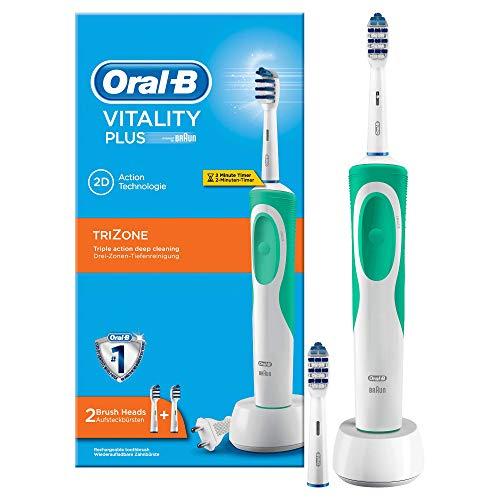 Oral-B Vitality Plus Trizone Cepillo de Dientes Eléctrico Recargable con Tecnología Braun