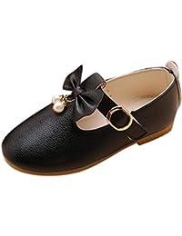 bfcb675a3 Zapatos de Cuero para Niñas Otoño Invierno 2018 Moda PAOLIAN Zapatos de Vestir  Princesa Boda Calzado