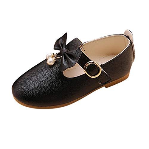 eda1cc204 Zapatos de Cuero para Niñas Otoño Invierno 2018 Moda PAOLIAN Zapatos de  Vestir Princesa Boda Calzado