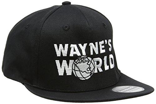 Wayne's World Rapper Kappe bestickt