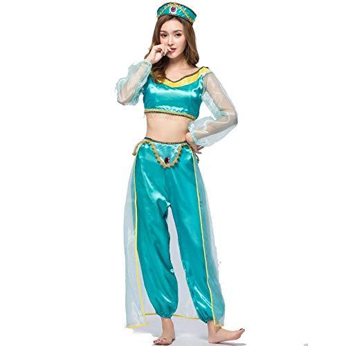 Halloween Spiel Einheitliche Halloween Kostüm Cosplay Magische Lampe Jasmin Prinzessin Rock, Bild, Farbe, - Jasmin Prinzessin Kostüm Muster