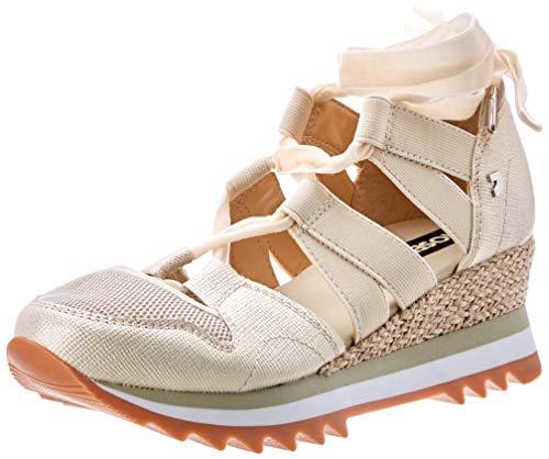 Gioseppo 47682, Zapatillas para Mujer, Blanco (Off-White 000), 41 EU