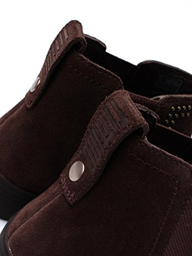 Botas Fitflop Superchelsea Con Tachuelas Chocolate