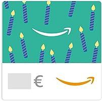 Buono Regalo Amazon.it - Digitale - Candeline di compleanno smeraldo