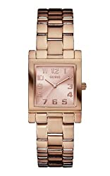Guess Ladies'watch Analogue Quartz Stainless Steel W0131l3