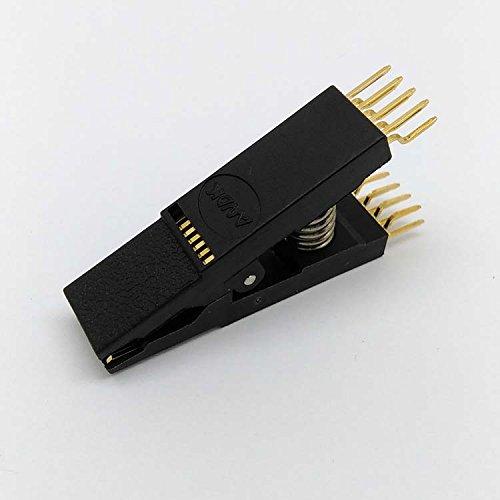 Clip-test-adapter (100Bios SOP16SOIC16gebogen Original Test Clip Pin Pitch 1,27mm Universal Körper EPROM Programmierung Clip geeignet für Dupont Line)