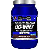 Advance Musclemass 100% Whey Isolate Whey Protein Supplement Powder With Digezyme - 1 Kg 2.2 Lb (33 Servings) (Chocolate Flavour)
