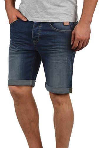 Blend martels - pantaloncini jeans da uomo, taglia:l;colore:denim darkblue (76207)