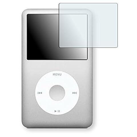 Golebo Crystal protection d'écran pour Apple iPod classic 160 GB - (Clair comme du cristal, Montage sans bulles, A retirer simplement)