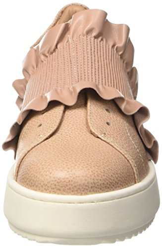 Twin-Set Cs7trw, Sneakers basses femme Rosa (Nudo Scuro)