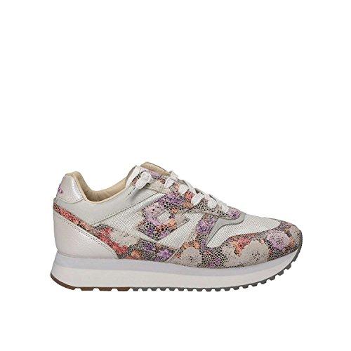 Lotto Sneakers Slice Flowers W Argento-Fiori T4614 FLOWER/WHT OFF