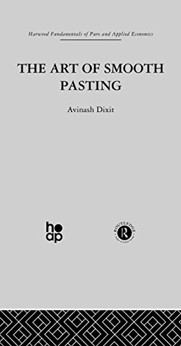Art of Smooth Pasting (Fundamentals of Pure & Applied Economics)