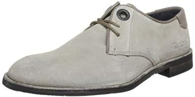 Kickers Eddy 281251-60, Herren Schnürhalbschuhe, Grau (gris taupe 123), EU 41