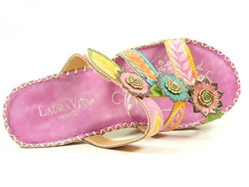 Laura Vita YF9919-6 Berault 06 Zoccoli donna Lila
