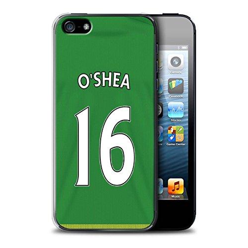 Offiziell Sunderland AFC Hülle / Case für Apple iPhone SE / Pack 24pcs Muster / SAFC Trikot Away 15/16 Kollektion O'Shea