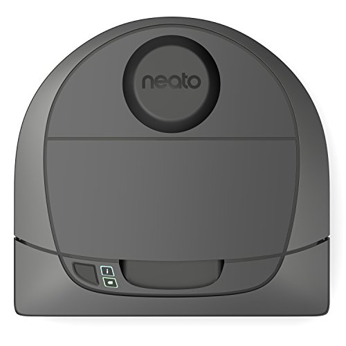 Neato Robotics Botvac D301 Connected – Saugroboter Alexa-kompatibel & für Tierhaare – Staubsauger Roboter mit Ladestation, Wlan & App-Steuerung