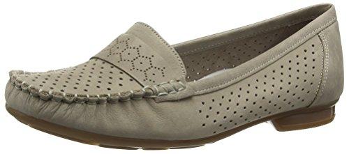 Rieker 40058 Women Mocassins, Mocassins (loafers) femme Beige (Beige)