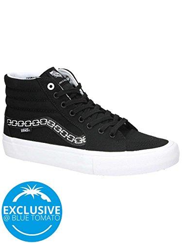 Herren Skateschuh Vans Sk8-Hi Pro Sketchy Tank Skate Shoes (sketchy tank) black/whit