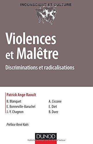 Violences et Malêtre - Discriminations et radicalisations