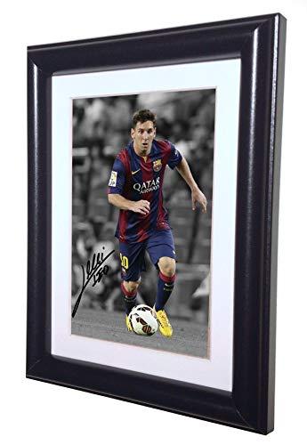 Lionel Messi Barcelona foto firmada fotografía foto