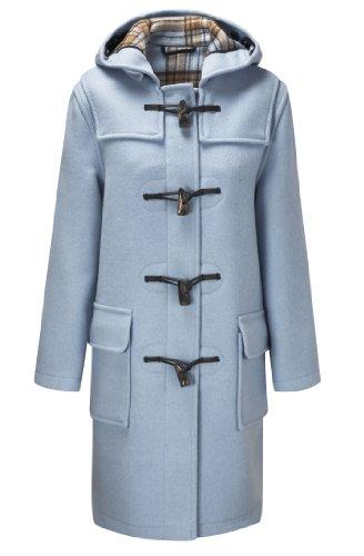 Montgomery Original Duffle Coat Pour Femme Bleu Ciel 50