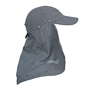 QuipCo Explorer Anti UV Cap Description: The Explorer Anti UV cap is Crafted from a quick-drying nylon poplin material with a lovely texture. This performance cap is the ultimate in cooling and provides protection against sun. It has a UPF 50...
