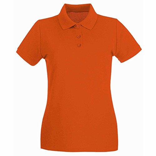 Uneek clothing Polo piqué classique pour femme 220g/m² orange