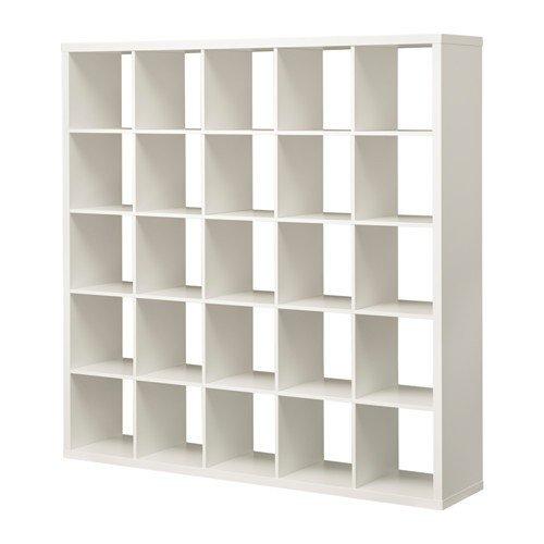 IKEA KALLAX Regal in weiß; (182x182cm); Kompatibel mit EXPEDIT