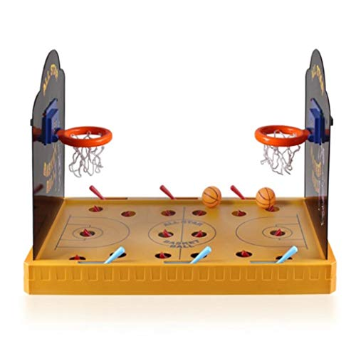Lernspielzeug Tabletop Arcade Basketball-Spiel Basketball-Rack Multi-Box-Shooter Indoor-Sport-Ball 06.23