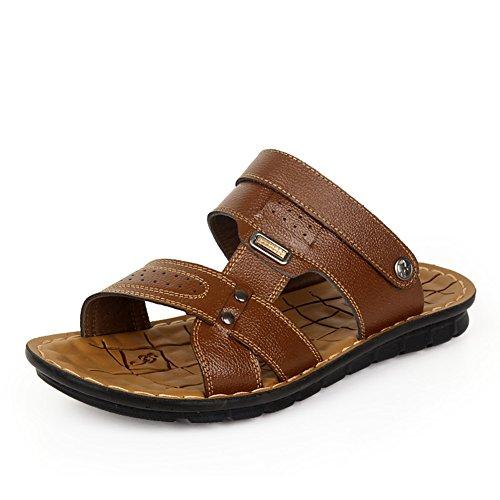 Sommer Herren Flip-Flops/Thong sandal/Sportschuhe/Herren outdoor Strand dual Slipper A