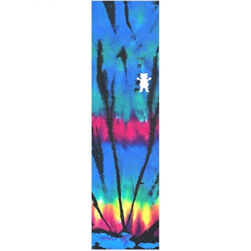 Grizzly Tie Dye blue Die Cut 9