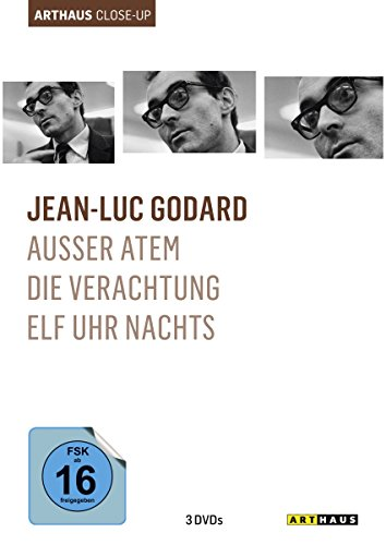 Bild von Jean-Luc Godard - Arthaus Close-Up [3 DVDs]