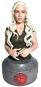 Juego de Tronos- Figura-Réplica Busto Daenerys Targaryen, Multicolor (Dark Horse SEP170139)