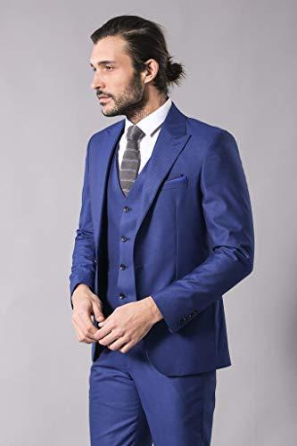 8592e77e1d067 Desenli Lacivert Takım Elbise | Wessi 56 Fiyatları, Özellikleri ve ...