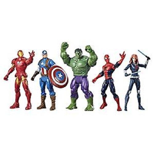"""Marvel Superheroes 5 Pack Assortment 6"""" Figure Toys (4+ Years) - Marvel Heroes"""