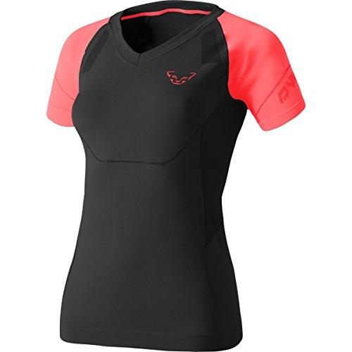 Dynafit Damen Alpine Seamless W S/S Tee T-Shirts, Hibiskus, 34 (EU) grau