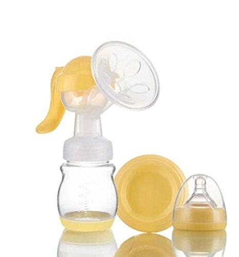 NWYJR Aspiration de pompe Résumé confort prolactine Grande poitrine Massage tire-lait manuel