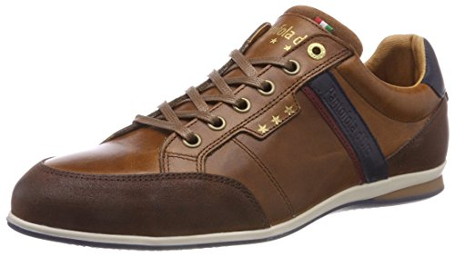 Pantofola d'Oro Herren Roma Uomo Low Sneaker, Braun (Tortoise Shell.Jcu), 41 EU -