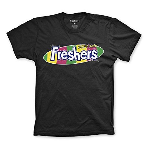 FM London Herren T-Shirt Printed Design Black (Freshers)
