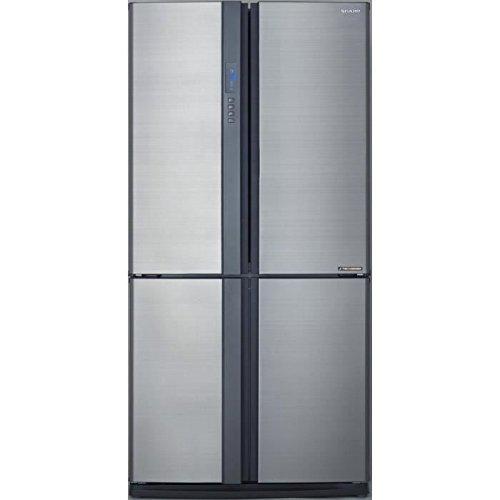 Sharp SJ-EX820FSL / Side by Side / A++ / Höhe 183 cm / Kühlteil 349 L / Gefrierteil 211 L / NoFrost / J-Tech Inverter Kompressor / manueller Eiswürfelbereiter / Edelstahl-lackiert -