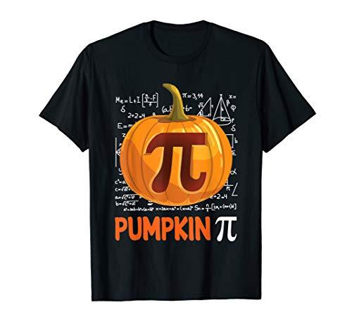 Kürbis-PU-Hemd Mathe-Halloween-Erntedank-Kostüm-Torten-Tag T-Shirt -