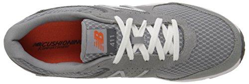 New Balance Mens MW411GR2 Walking Shoe Grey